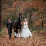 After Wedding Shooting mit Pferd